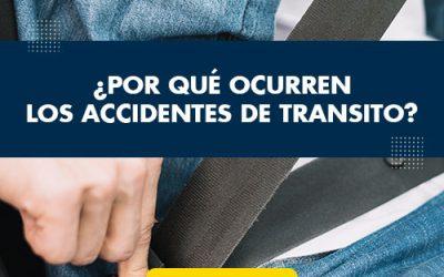 ¿Por qué ocurren los accidentes de tránsito